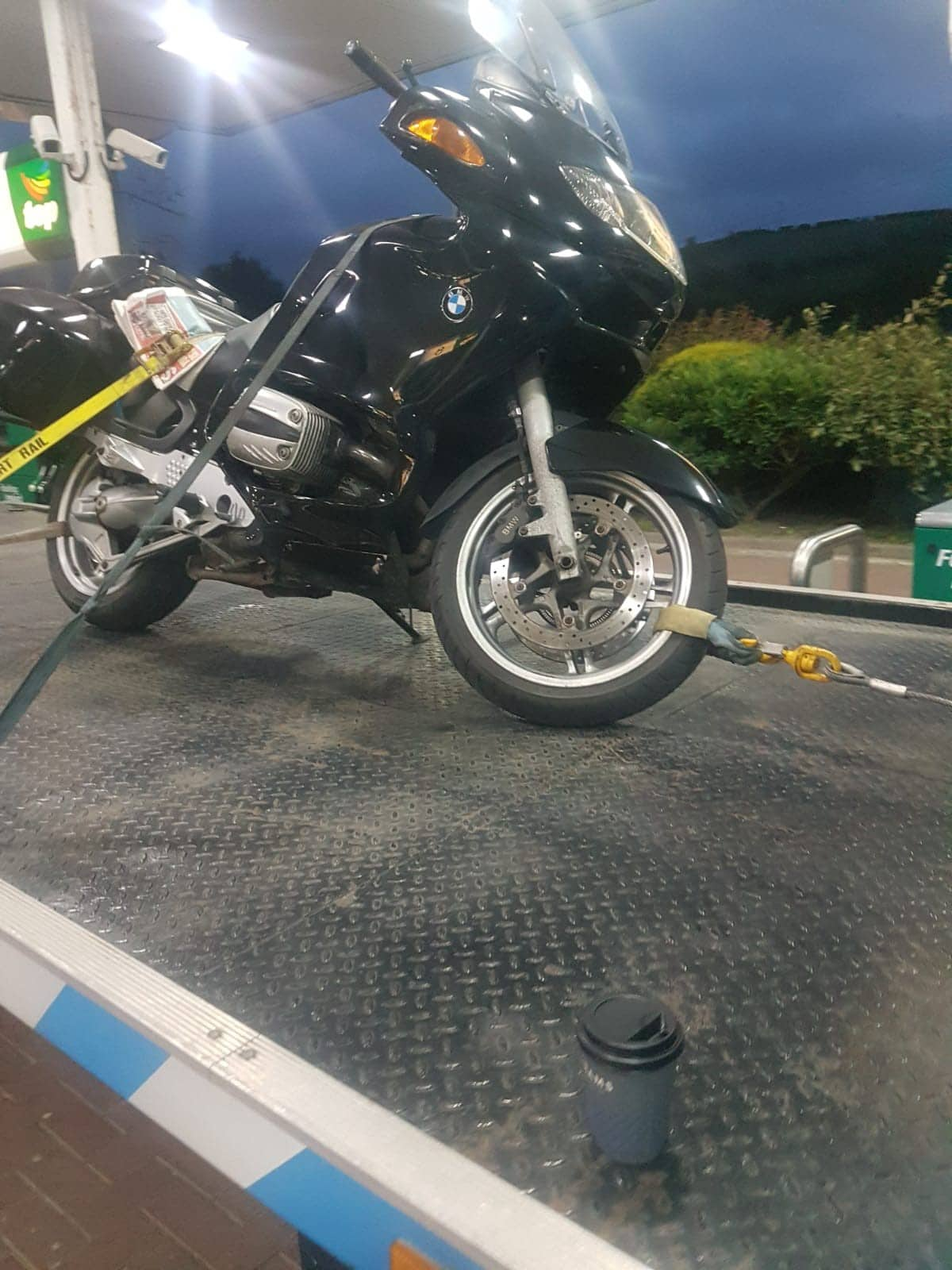Motorbike Towing