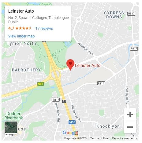 leinster towing goggle map clickable image
